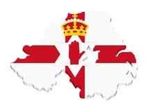 Noord- Ierland vector illustratie