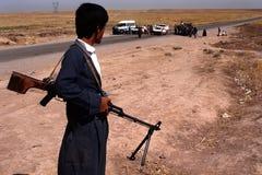 1993 Noord-Irak - Koerdistan Royalty-vrije Stock Fotografie