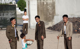 Noord-Korea 2013 Royalty-vrije Stock Foto