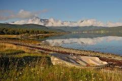 Noord- Noorwegen 49 Stock Foto's