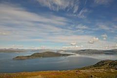 Noord- Noorwegen 54 Stock Foto's