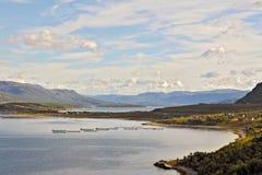 Noord- Noorwegen 56 Stock Fotografie
