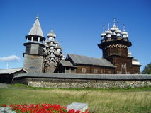 Noord- Rusland Kizhi Stock Afbeeldingen