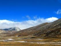 Noord-Sikkim, India royalty-vrije stock afbeelding