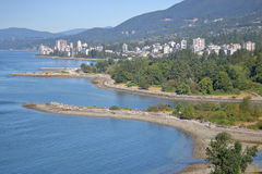 Noord-Vancouver en Oever Royalty-vrije Stock Foto