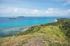 Noordam巡航:太平洋群岛 图库摄影