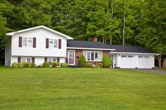 Noordamerikaans Huis Royalty-vrije Stock Afbeeldingen