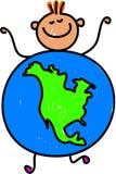 Noordamerikaans jong geitje vector illustratie