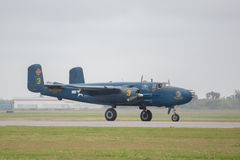 Noordamerikaanse B-25 Mitchell Stock Afbeelding