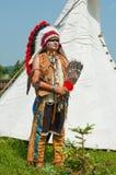 Noordamerikaanse Indiër Royalty-vrije Stock Fotografie