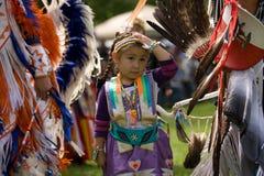 Noordamerikaanse Indische Wow Pow. Stock Foto's