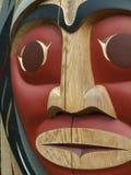 Noordamerikaanse Totempaal Stock Afbeeldingen