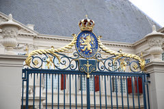 Noordeinde Palace in The Hague, Netherlands Royalty Free Stock Photo