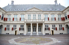 Noordeinde Palace in The Hague, Netherlands Stock Photos