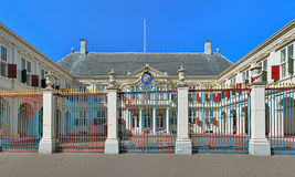 Noordeinde Palace in The Hague, Netherlands Stock Photography