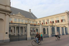 Noordeinde Palace palace of the Dutch royal family. Located in The Hague in the province of South Holland, it has been used as the working palace for Queen Stock Image