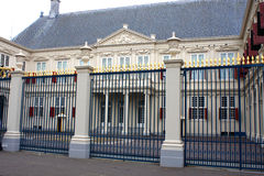 Noordeinde slott i Hague, netherland Arkivbild