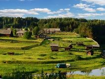 Noordelijk dorp 2 royalty-vrije stock foto