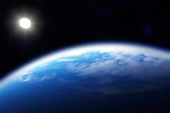 Noordelijk gebied van de Aarde, het Noordpoolgebied Stock Foto