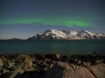 Noordelijk licht Stock Foto's