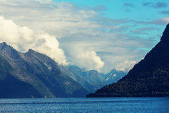 Noordelijk Noorwegen Stock Fotografie