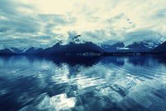 Noordelijk Noorwegen Royalty-vrije Stock Fotografie