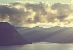 Noordelijk Noorwegen Royalty-vrije Stock Foto's
