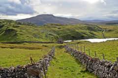 Noordelijk Schotland - ruïnes Royalty-vrije Stock Afbeelding