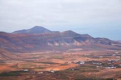 Noordelijke Fuerteventura, Canarische Eilanden stock afbeelding