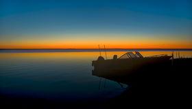 Noordelijke het Meerzonsopgang van Michigan Stock Fotografie