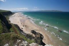 Noordelijke Ierse kustlijn royalty-vrije stock afbeeldingen