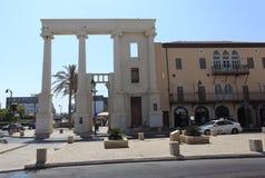 Noordelijke Ingang van Oude Jaffa - Tel Aviv Stock Foto's