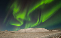 Noordelijke lichten stock foto's