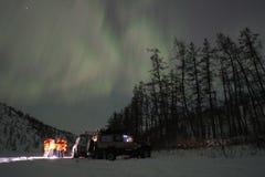 Noordelijke lichten Royalty-vrije Stock Foto