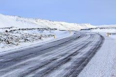 Noordelijke lichten in de hemel van IJsland Stock Fotografie