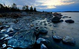 Noordelijke oever stock foto's