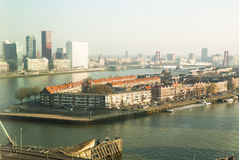 Noordereiland, Rotterdam Royalty Free Stock Photography