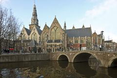 Noorderkerk in Amsterdam the Netherlands Royalty Free Stock Images