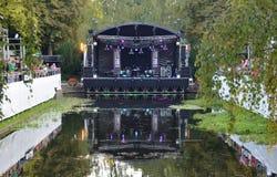 Noorderzon Groningen 2014 Нидерланды Стоковые Изображения
