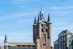 Noordhafenpoort van Zierikzee royalty-vrije stock afbeelding