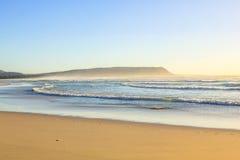 Noordhoek海滩背景 免版税图库摄影