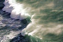 Noordhoek breaking wave Royalty Free Stock Images