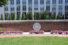 Noordoostelijke Universiteit in Boston, Massachusetts stock foto