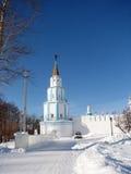 Noordoostelijke watchtower en engel Stock Afbeeldingen