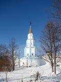 Noordoostelijke watchtower van het klooster Raifsky Royalty-vrije Stock Foto