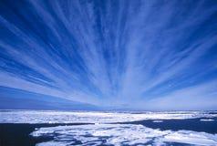 Noordpool Hemelen Stock Afbeelding