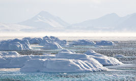 Noordpool klimaat Royalty-vrije Stock Foto's