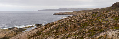Noordpool kust royalty-vrije stock foto