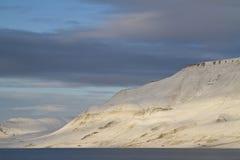 Noordpool landschap Stock Afbeelding