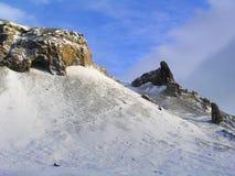 Noordpool landschap Royalty-vrije Stock Foto's